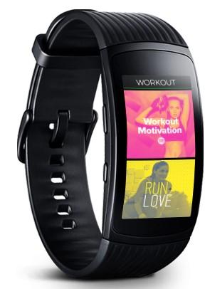 Spotify App auf dem Fitness-Armband