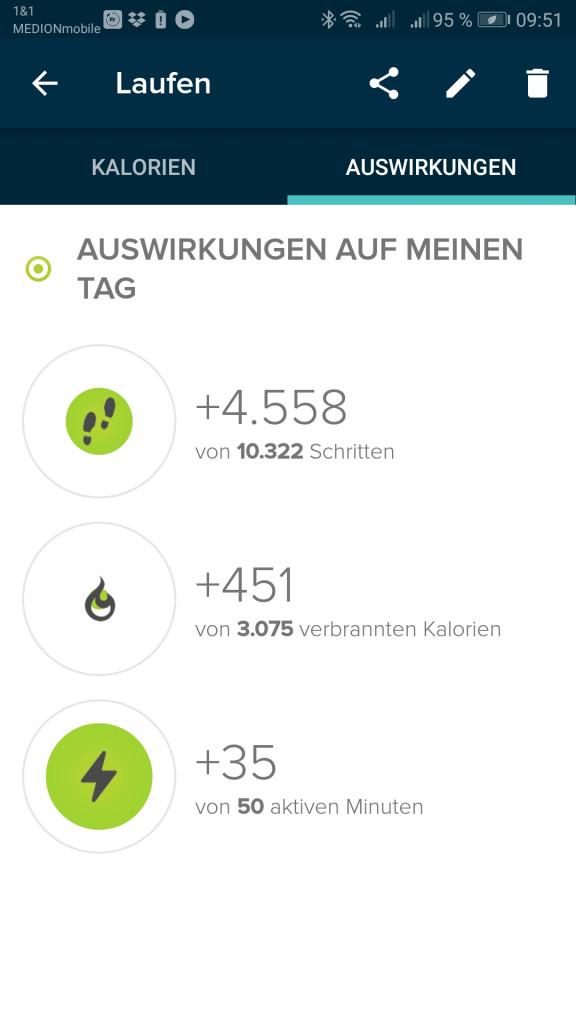 Fitbit App Laufen
