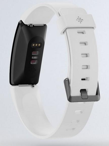 Fitbit Inspire HR Armband von hinten