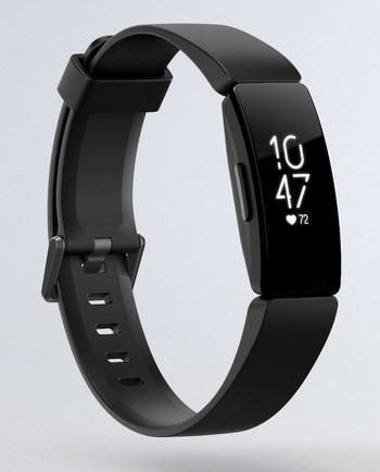 Fitbit Inspire HR in Schwarz