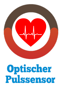 optischer Sensor Pulsmessung Illustration