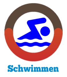 Schwimmen Fitness tracker Illustration